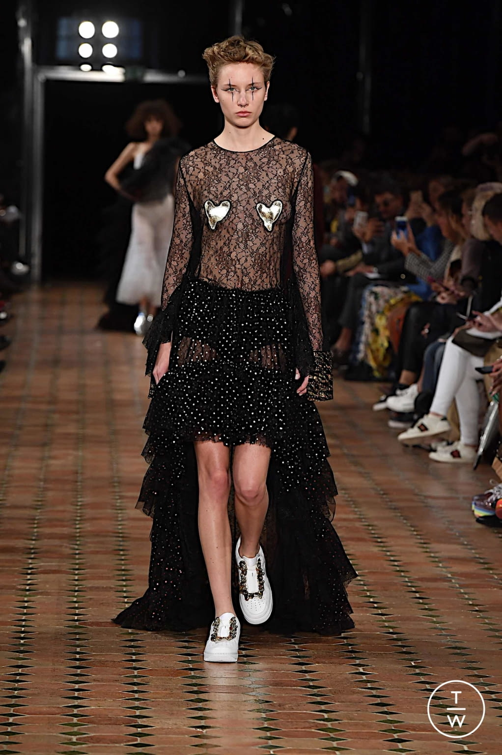 Fashion Week Paris Spring/Summer 2020 look 24 from the Anaïs Jourden collection womenswear