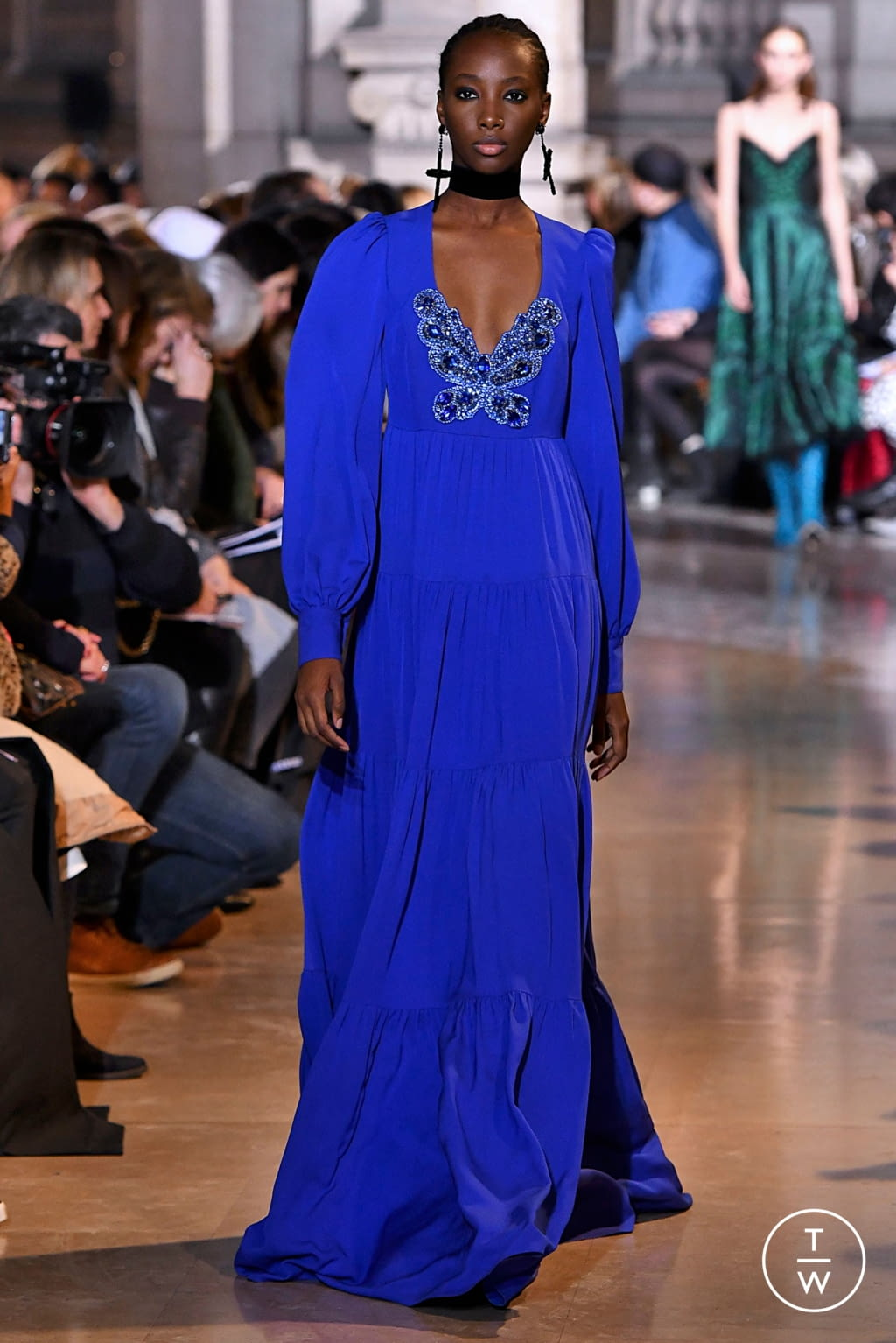 Fashion Week Paris Fall/Winter 2019 look 21 from the Andrew GN collection womenswear