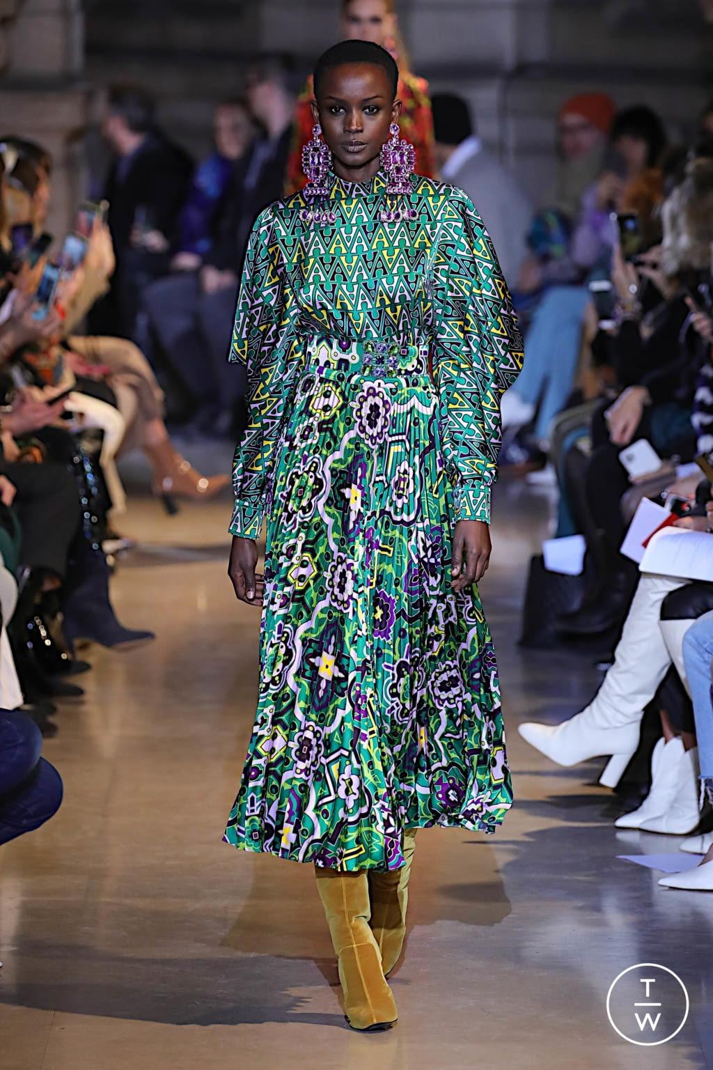 Fashion Week Paris Fall/Winter 2020 look 21 de la collection Andrew GN womenswear