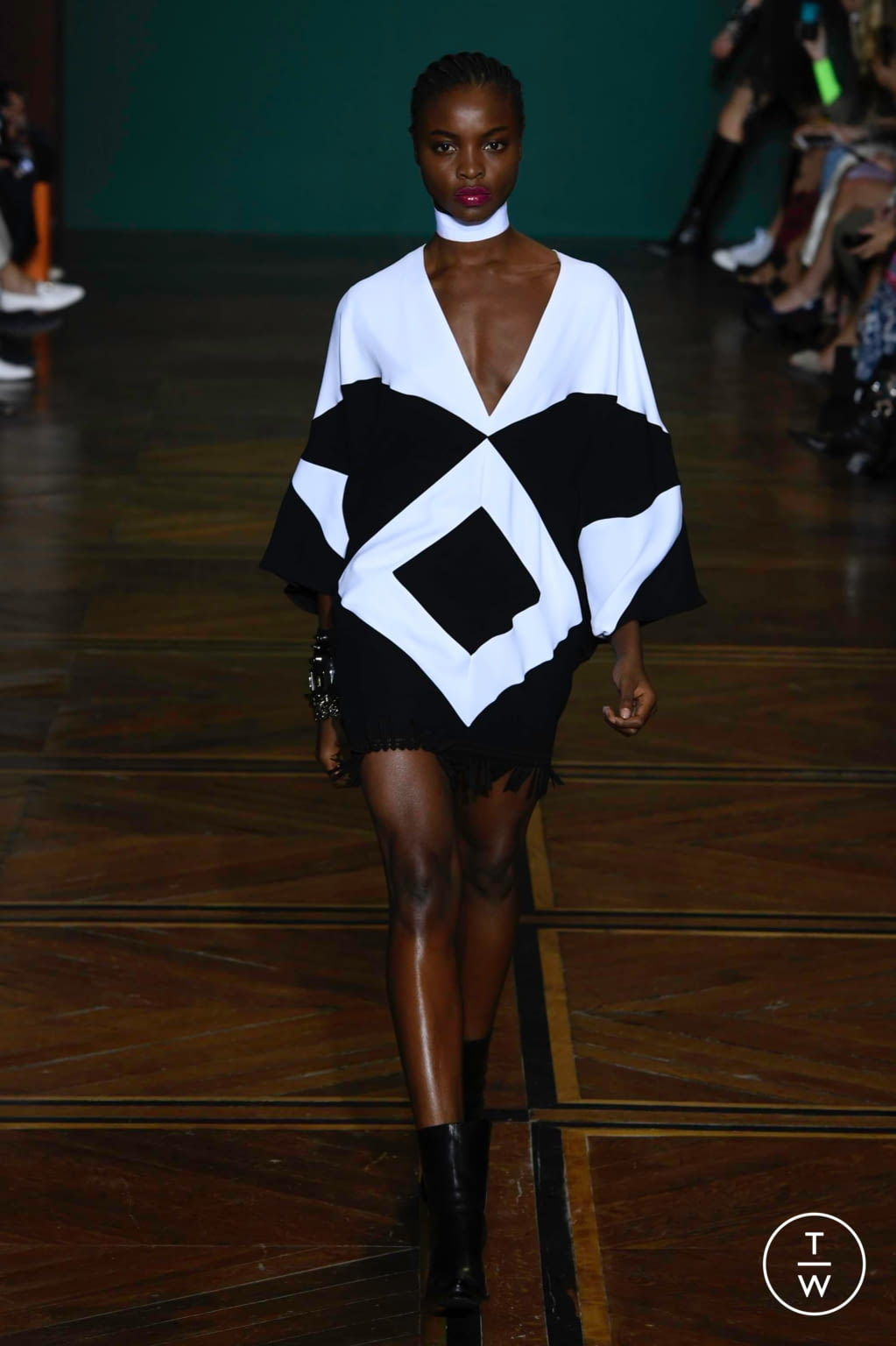 Fashion Week Paris Spring/Summer 2019 look 1 from the Andrew GN collection womenswear