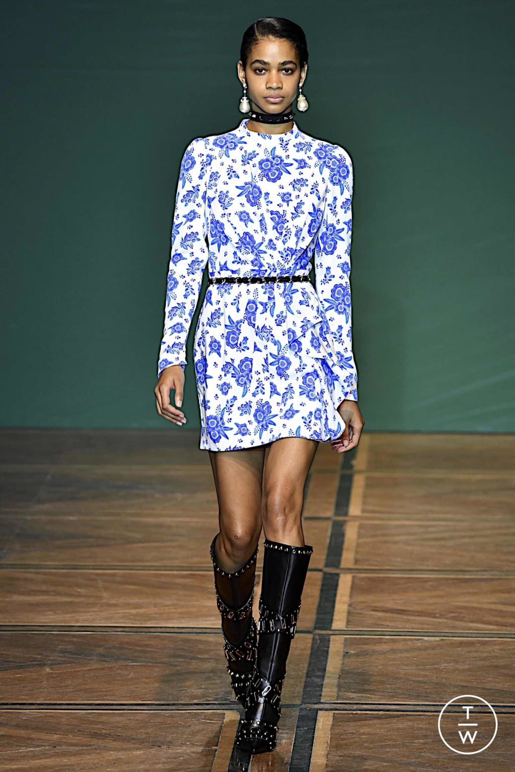 Fashion Week Paris Spring/Summer 2020 look 4 from the Andrew GN collection womenswear