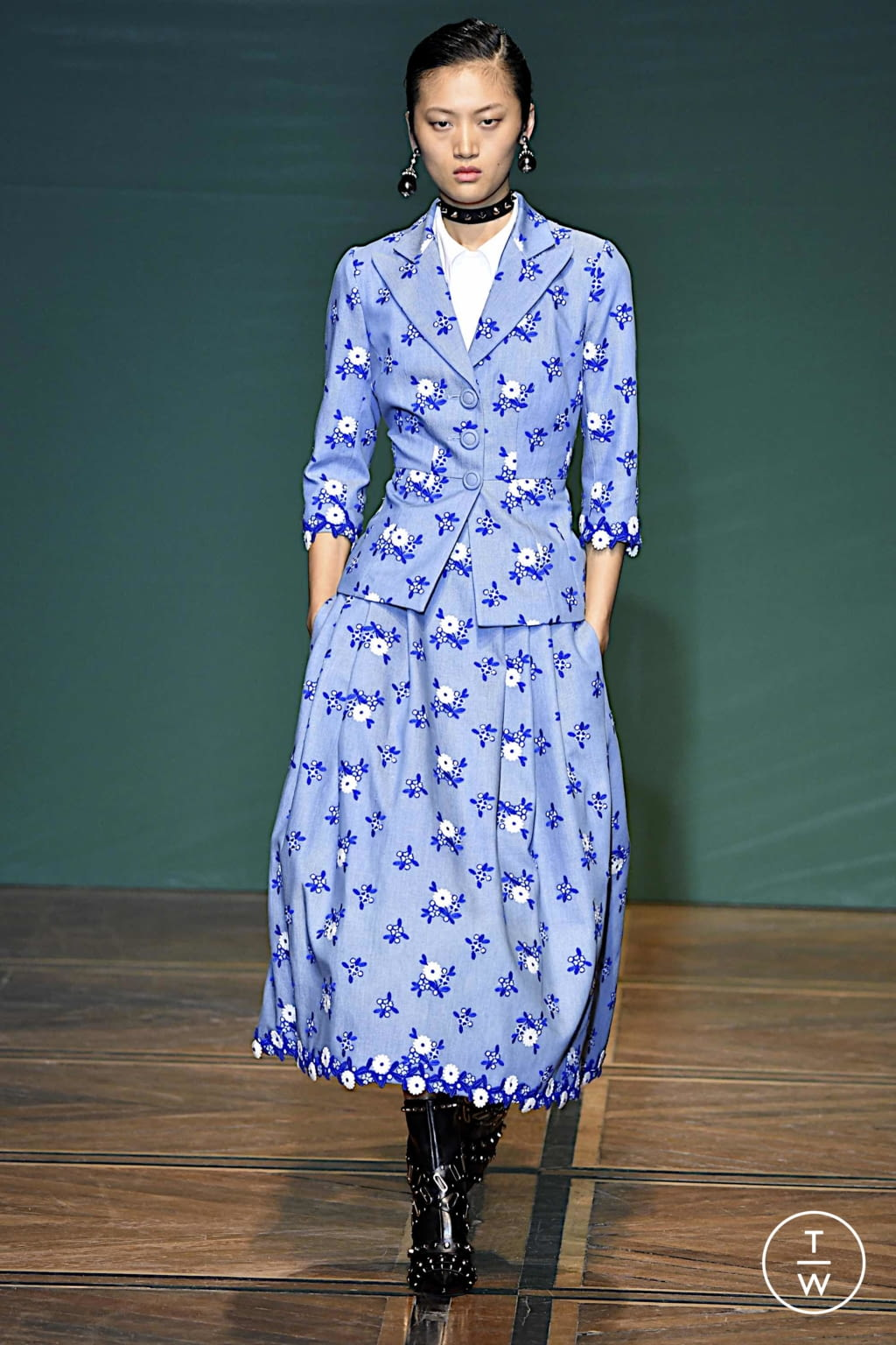 Fashion Week Paris Spring/Summer 2020 look 7 from the Andrew GN collection womenswear