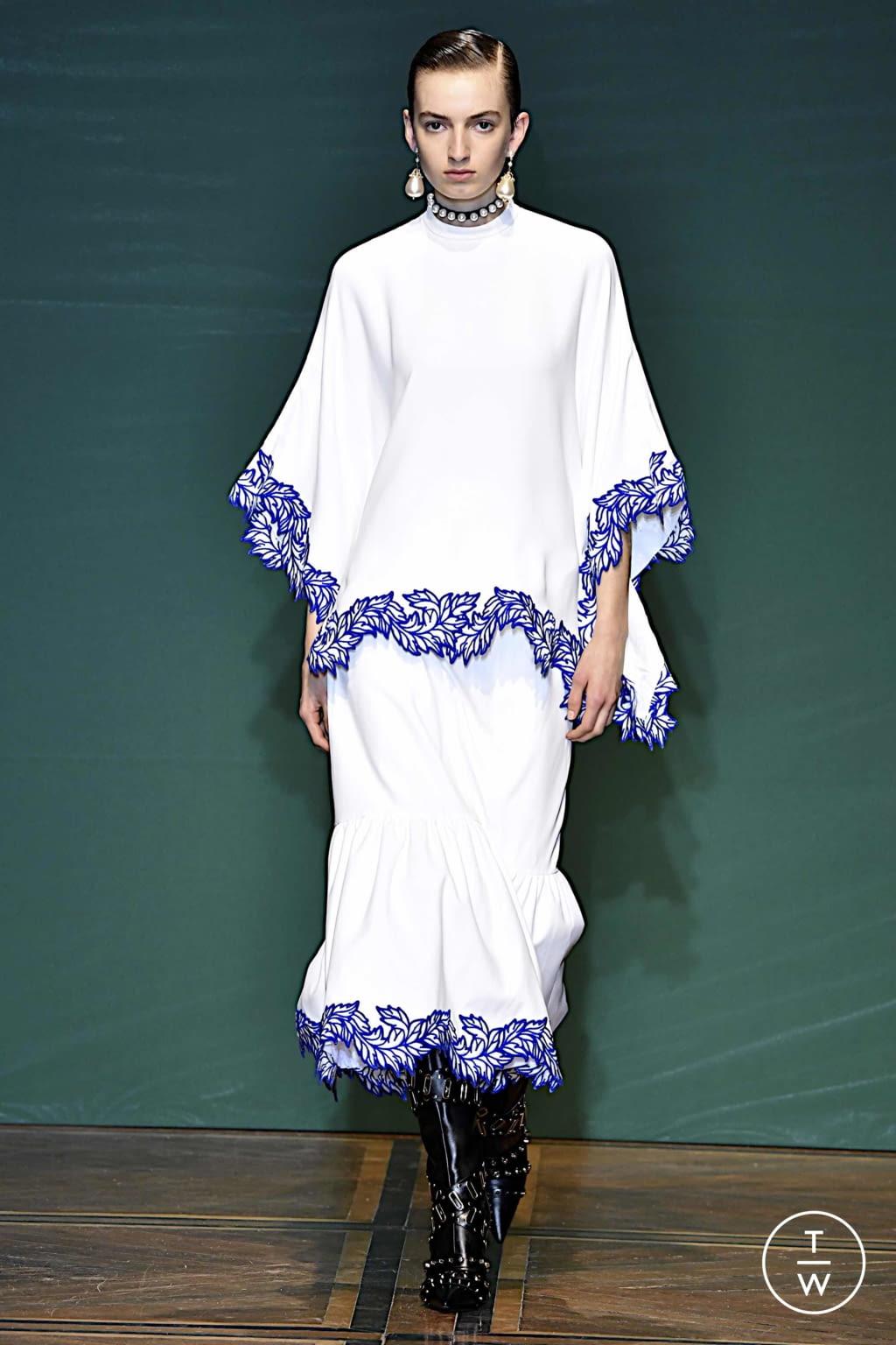 Fashion Week Paris Spring/Summer 2020 look 8 de la collection Andrew GN womenswear