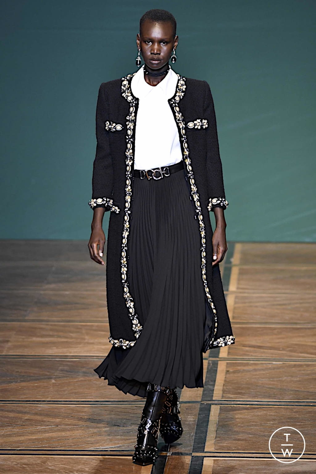 Fashion Week Paris Spring/Summer 2020 look 23 from the Andrew GN collection womenswear