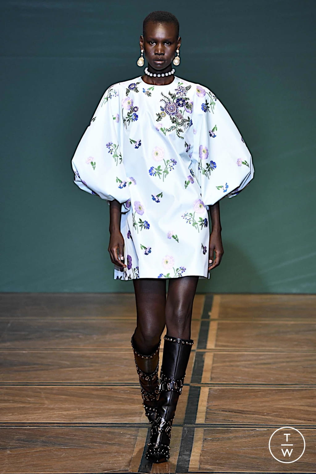 Fashion Week Paris Spring/Summer 2020 look 43 from the Andrew GN collection womenswear