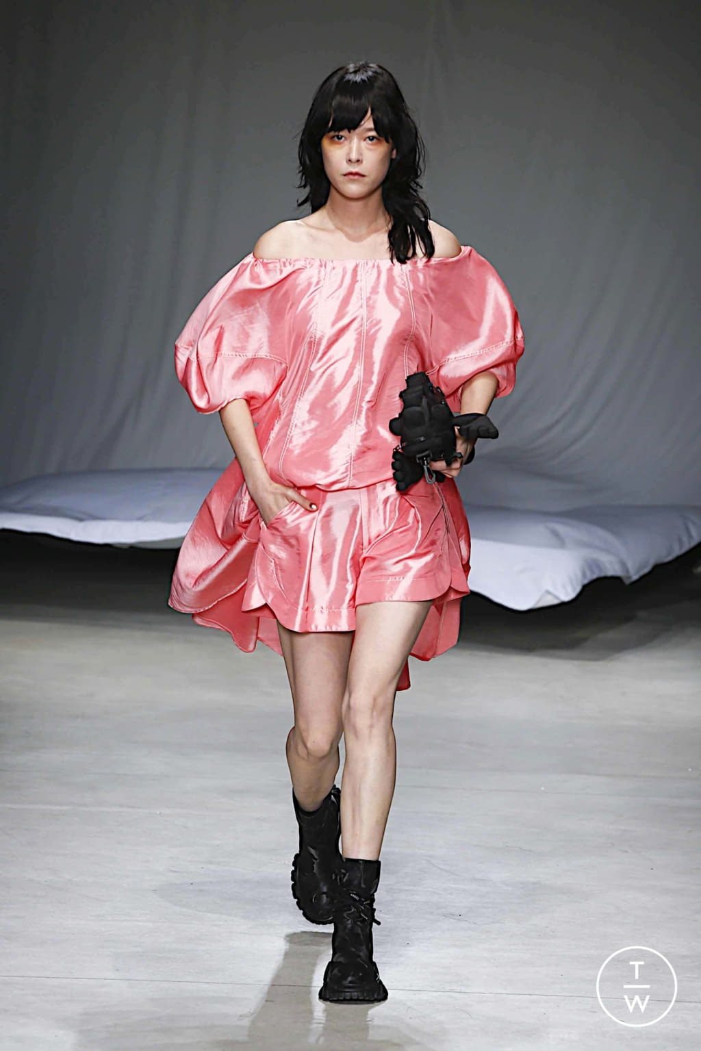 Fashion Week Milan Spring/Summer 2020 look 14 from the Angel Chen collection 女装