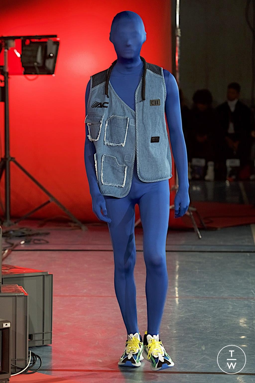 Fashion Week Paris Fall/Winter 2020 look 47 de la collection Angus Chiang menswear
