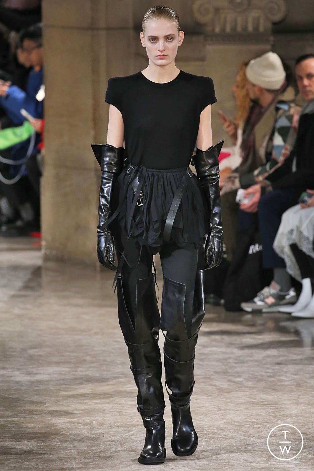 Fashion Week Paris Fall/Winter 2018 look 14 de la collection Ann Demeulemeester womenswear