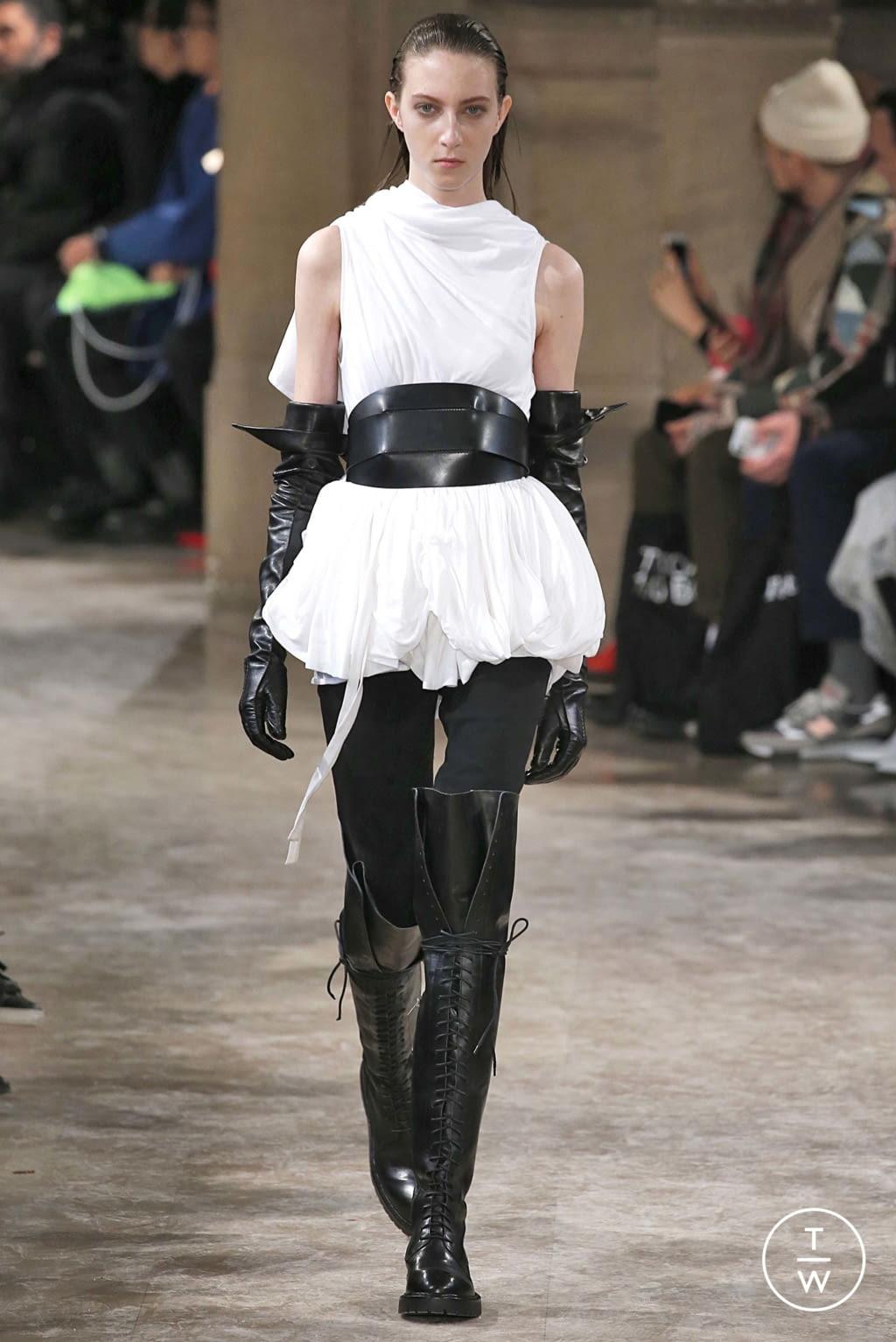 Fashion Week Paris Fall/Winter 2018 look 25 de la collection Ann Demeulemeester womenswear