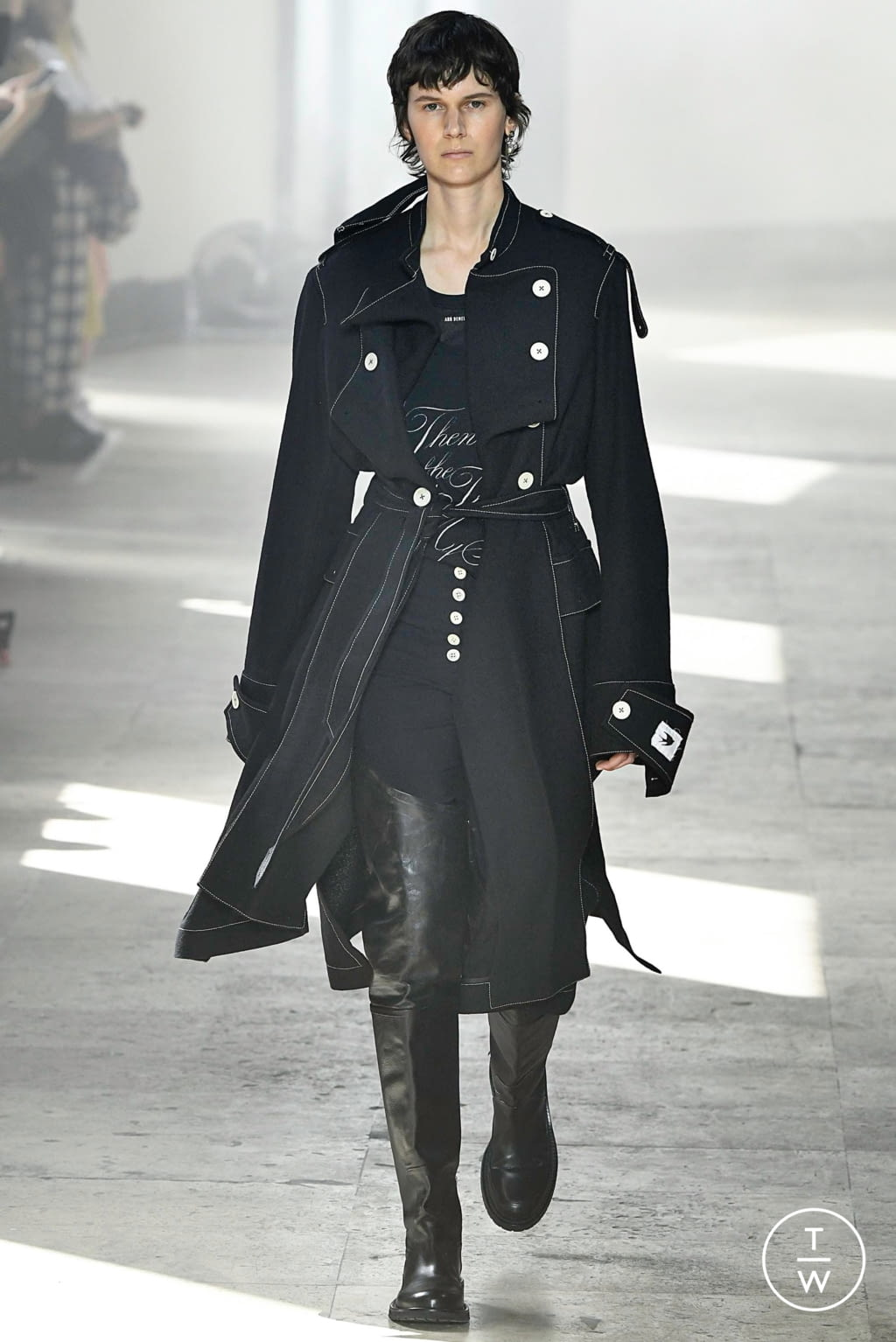 Fashion Week Paris Spring/Summer 2020 look 7 from the Ann Demeulemeester collection menswear