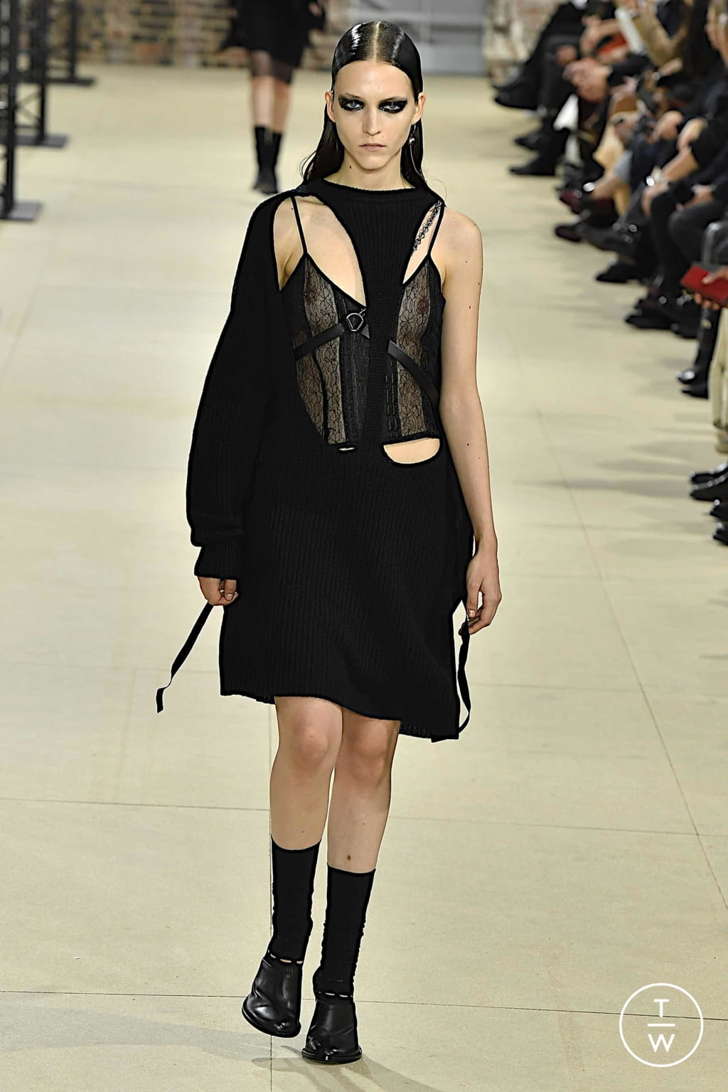 Fashion Week Paris Spring/Summer 2020 look 31 from the Ann Demeulemeester collection womenswear
