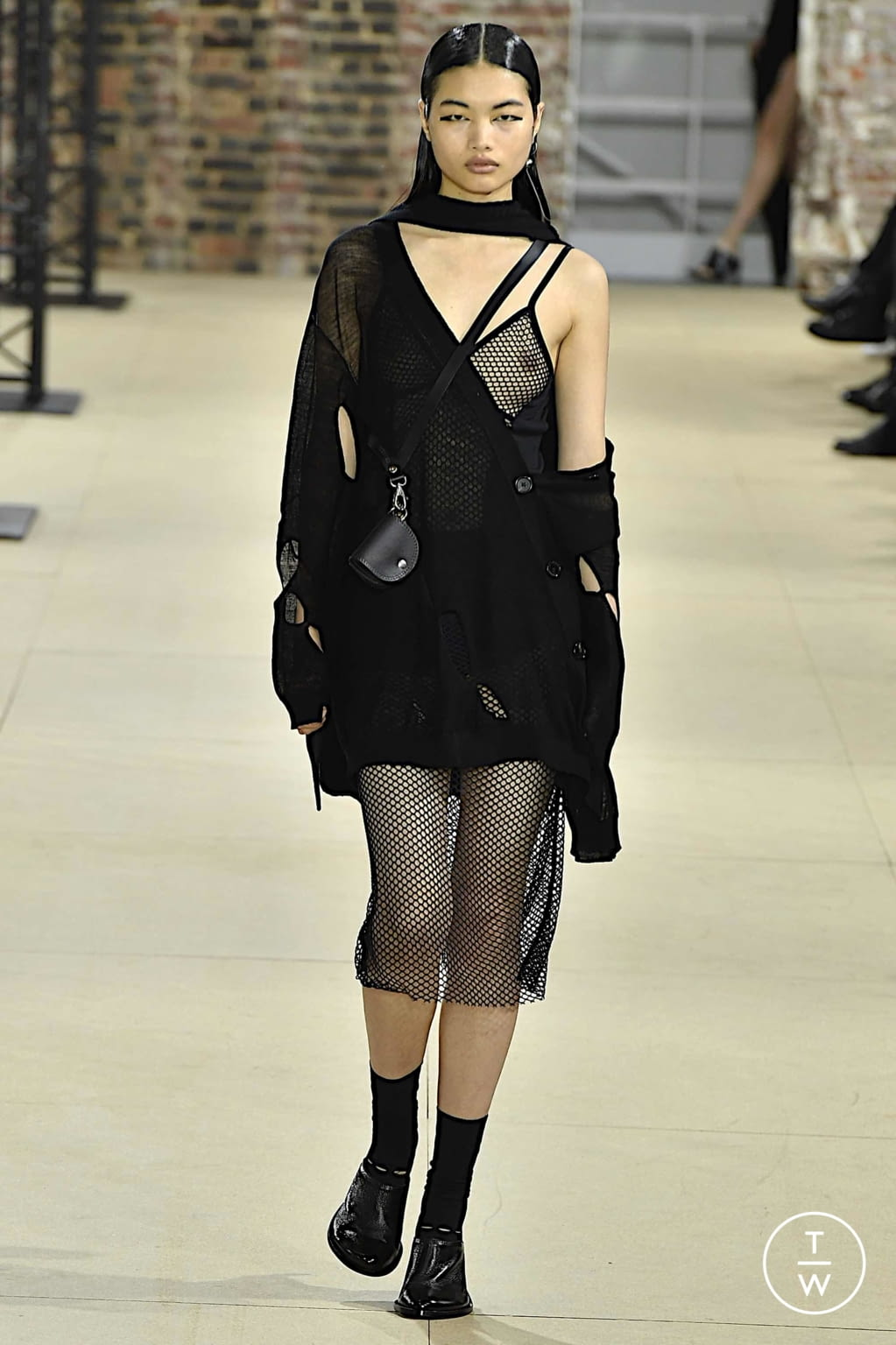 Fashion Week Paris Spring/Summer 2020 look 33 from the Ann Demeulemeester collection womenswear