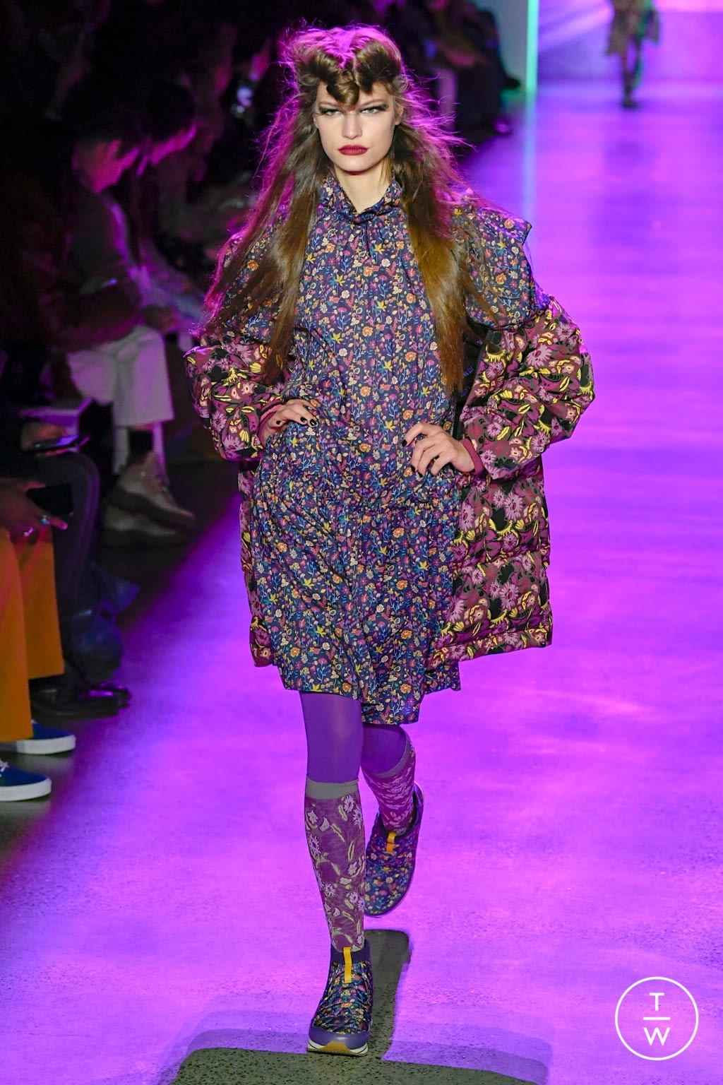 Fashion Week New York Fall/Winter 2020 look 22 de la collection Anna Sui womenswear