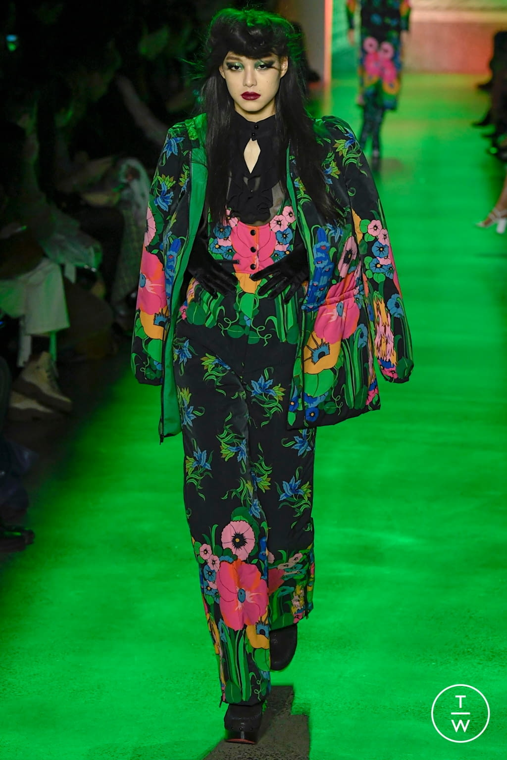 Fashion Week New York Fall/Winter 2020 look 28 from the Anna Sui collection womenswear