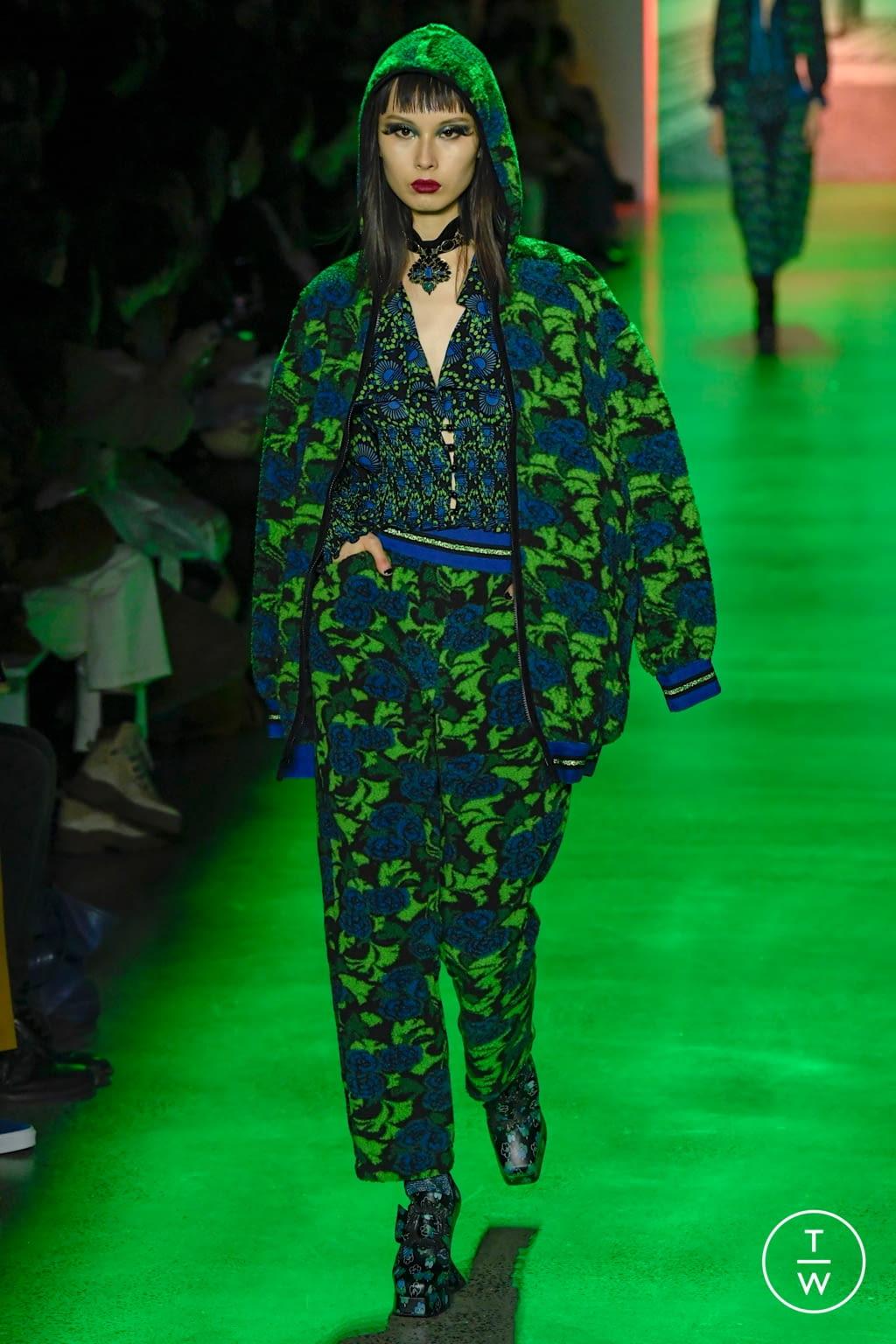 Fashion Week New York Fall/Winter 2020 look 30 de la collection Anna Sui womenswear
