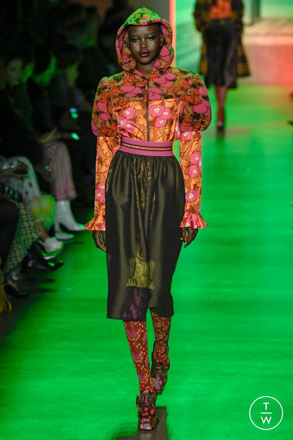 Fashion Week New York Fall/Winter 2020 look 34 de la collection Anna Sui womenswear