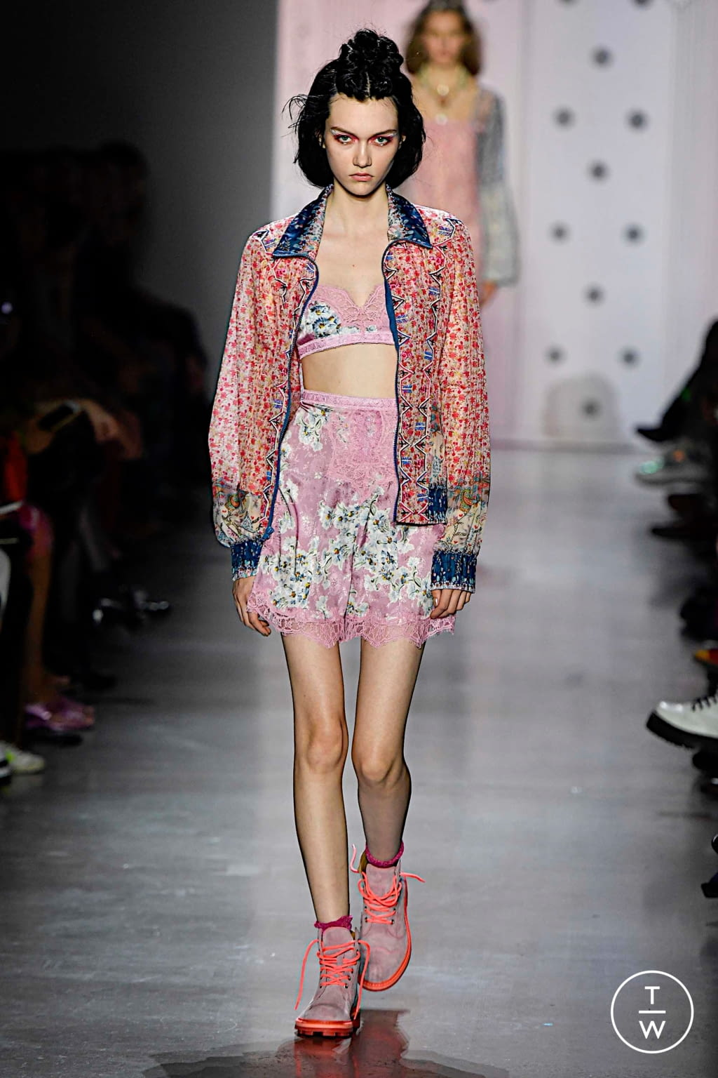 Fashion Week New York Spring/Summer 2020 look 25 from the Anna Sui collection womenswear