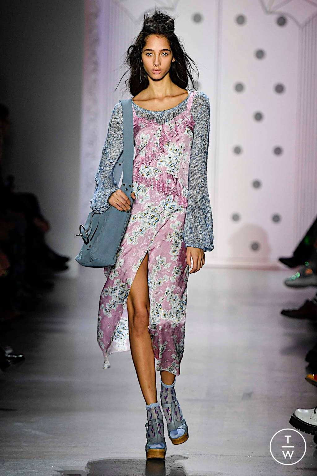 Fashion Week New York Spring/Summer 2020 look 30 from the Anna Sui collection 女装