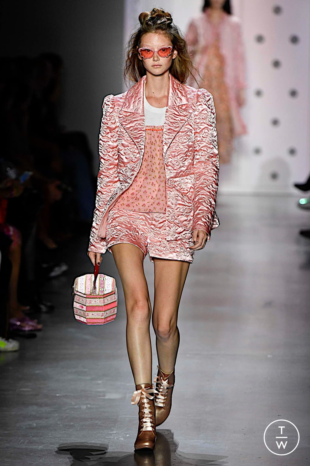 Fashion Week New York Spring/Summer 2020 look 38 from the Anna Sui collection womenswear