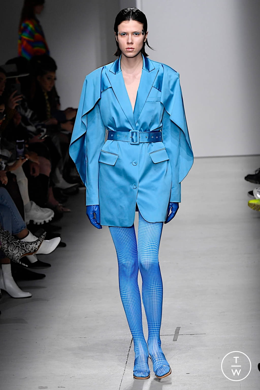 Fashion Week Milan Fall/Winter 2020 look 19 from the Annakiki collection womenswear