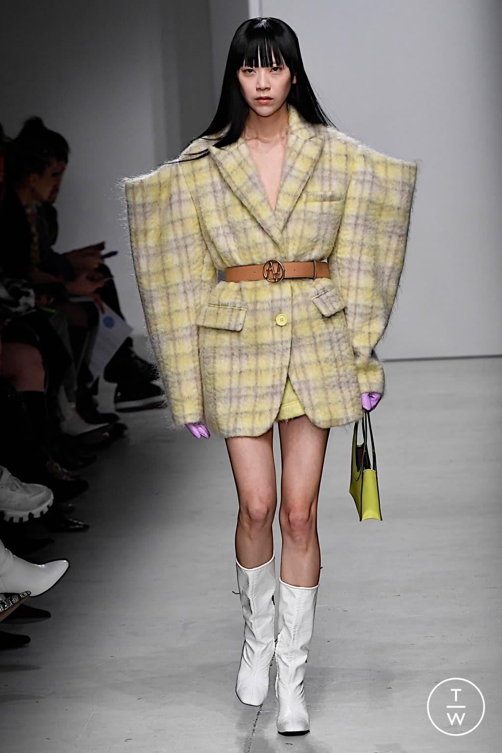 Fashion Week Milan Fall/Winter 2020 look 33 from the Annakiki collection womenswear