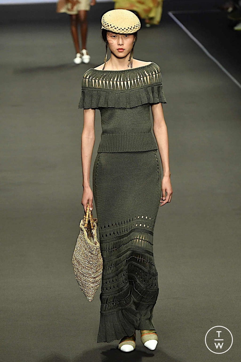 Fashion Week Milan Spring/Summer 2020 look 14 from the Anteprima collection 女装