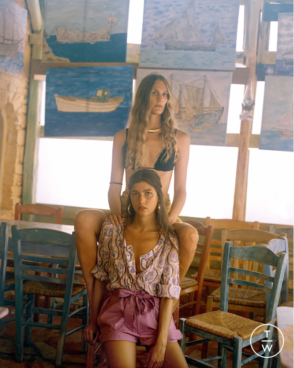 Fashion Week Paris Spring/Summer 2022 look 7 from the Antik Batik collection womenswear