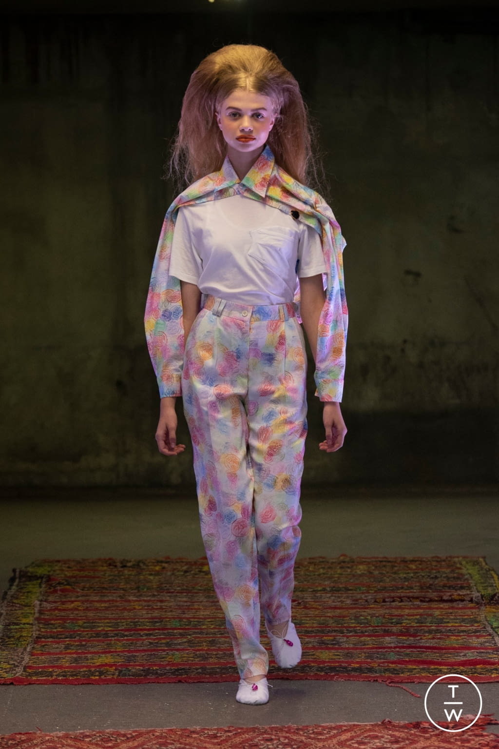 Fashion Week Paris Spring/Summer 2020 look 4 from the Anton Belinskiy collection womenswear