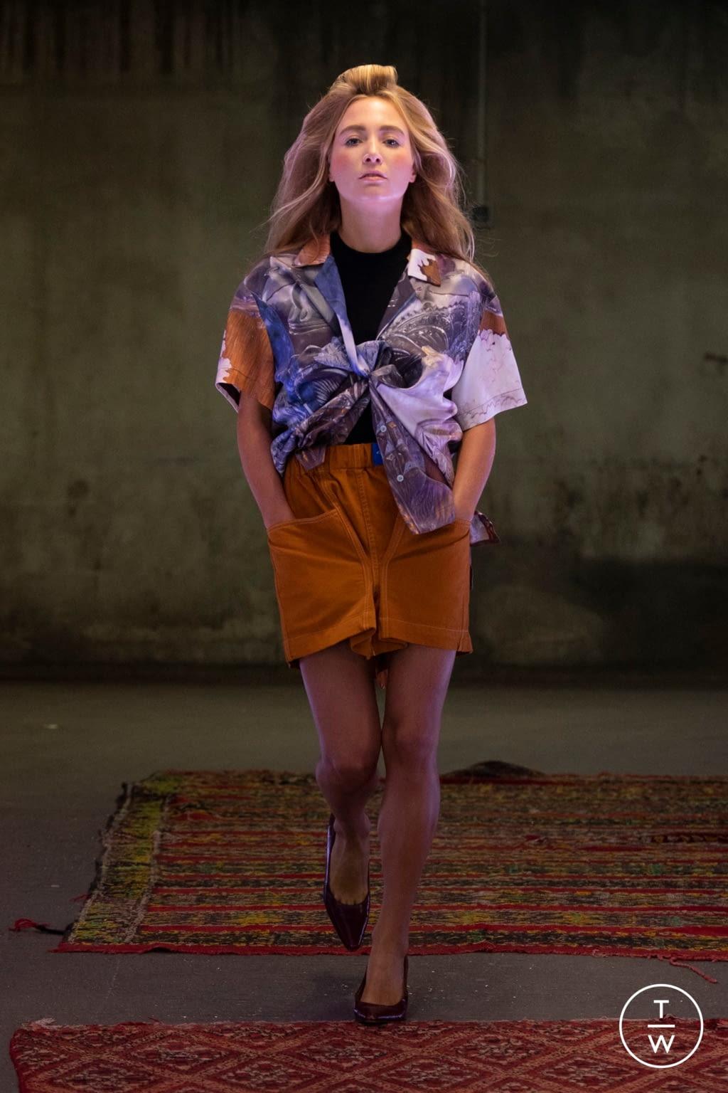 Fashion Week Paris Spring/Summer 2020 look 7 from the Anton Belinskiy collection womenswear