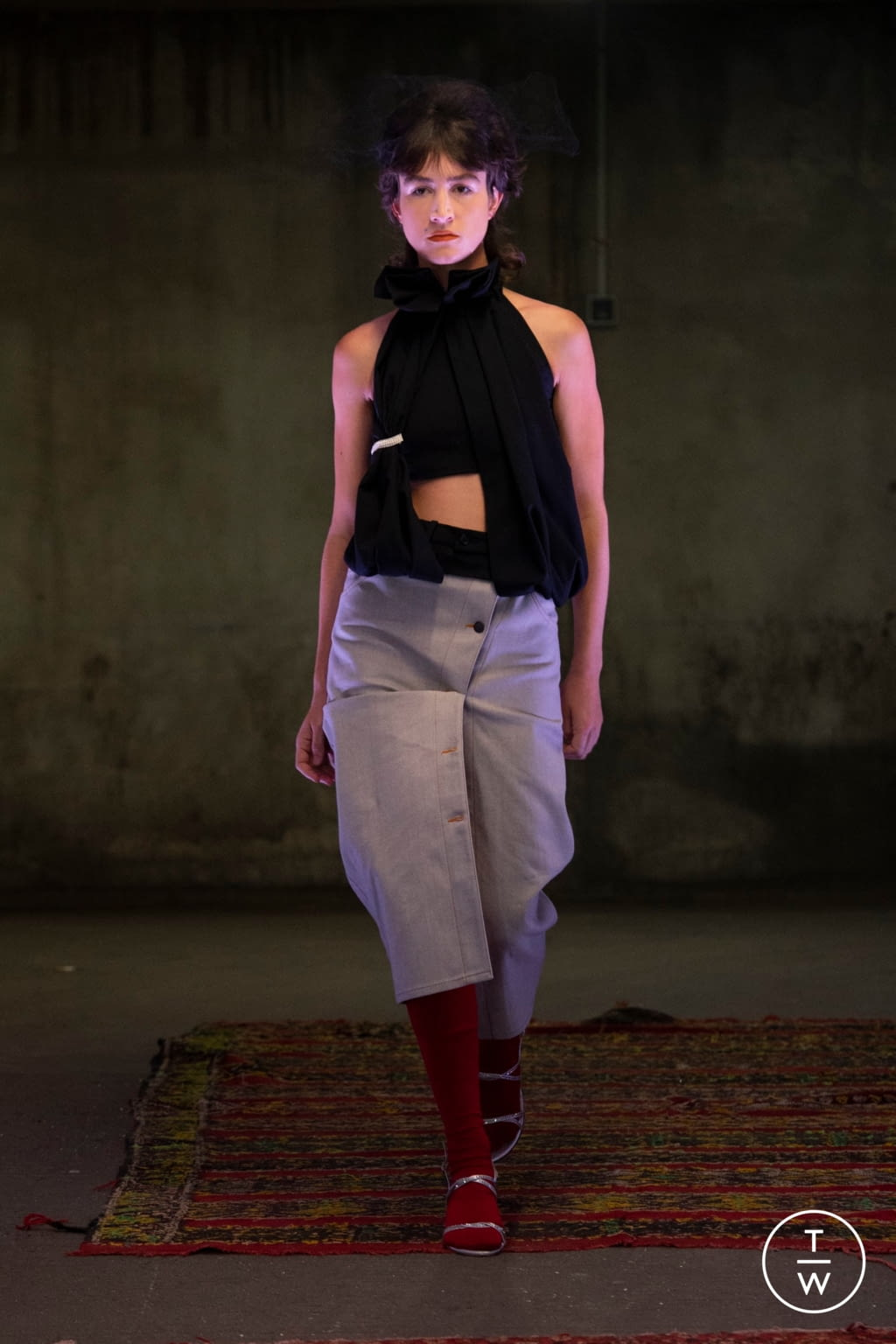 Fashion Week Paris Spring/Summer 2020 look 8 from the Anton Belinskiy collection womenswear