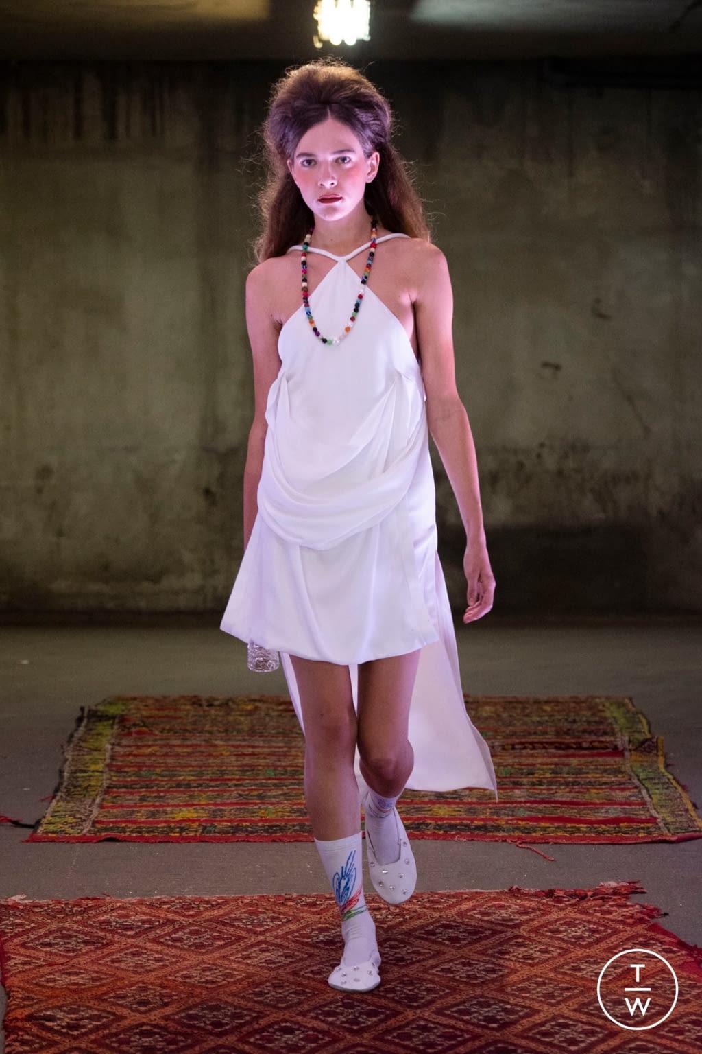 Fashion Week Paris Spring/Summer 2020 look 13 from the Anton Belinskiy collection womenswear