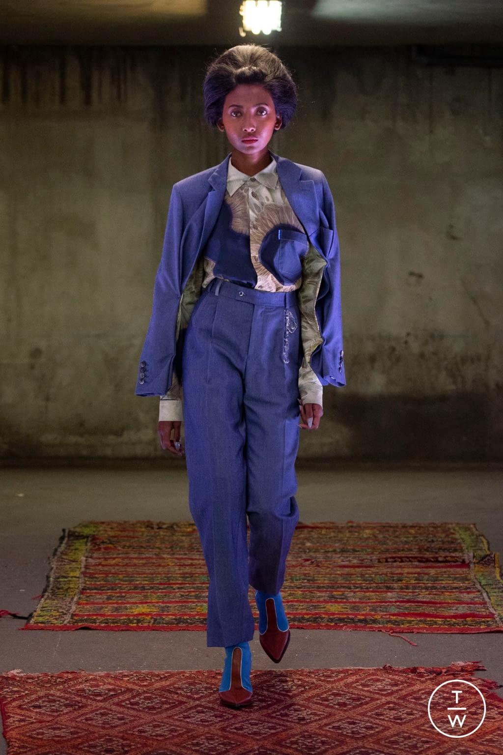 Fashion Week Paris Spring/Summer 2020 look 15 from the Anton Belinskiy collection womenswear