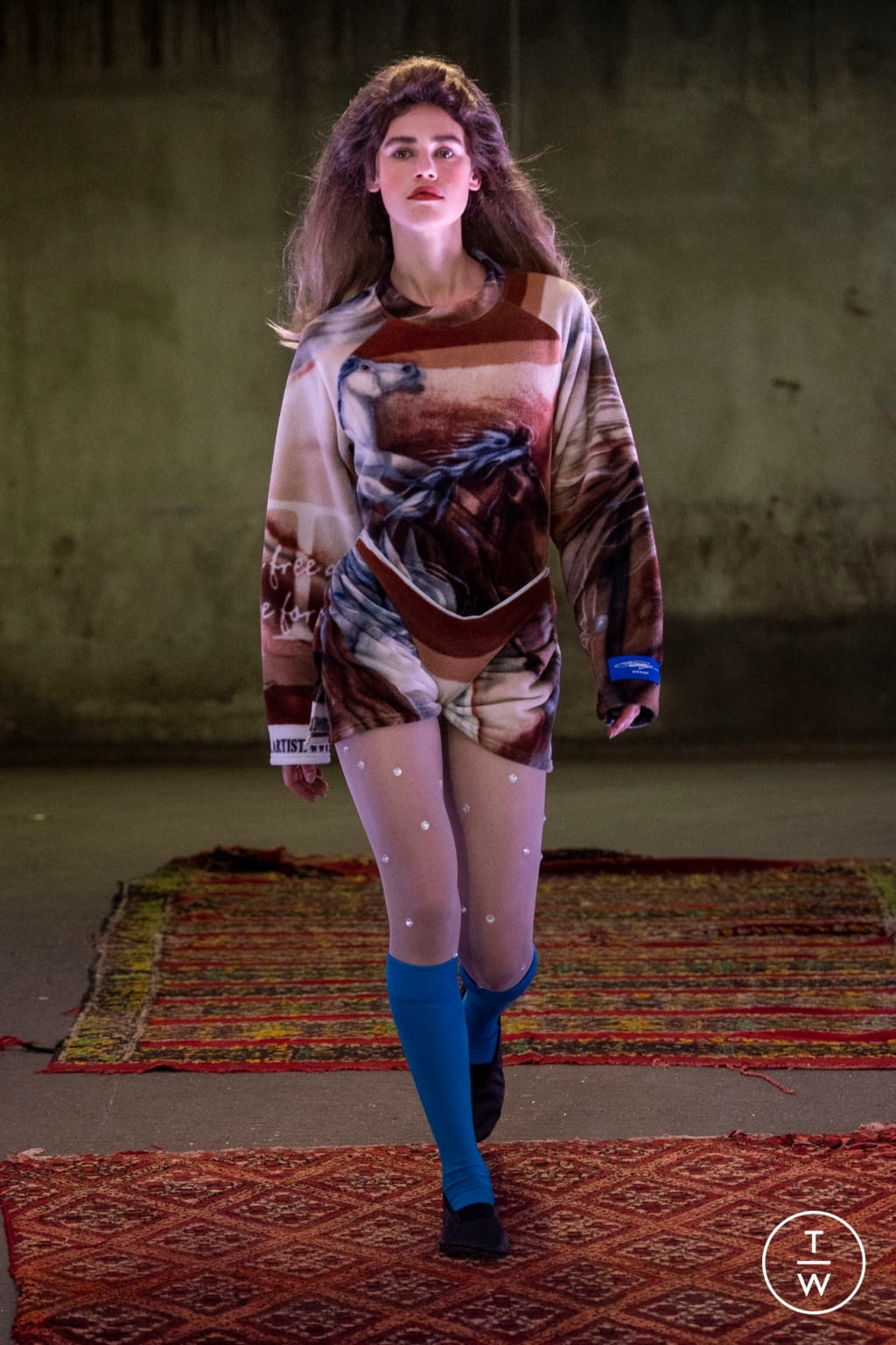 Fashion Week Paris Spring/Summer 2020 look 20 from the Anton Belinskiy collection womenswear