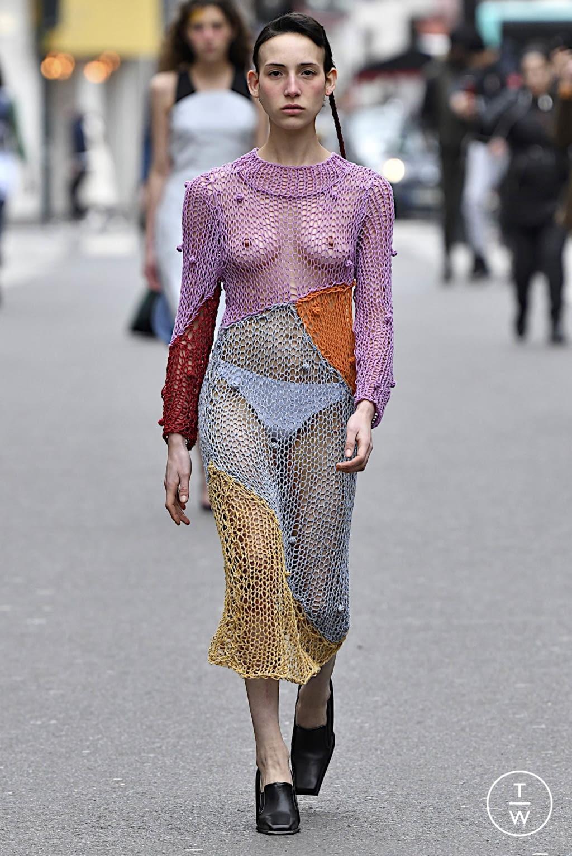 Fashion Week Paris Fall/Winter 2020 look 1 from the Anton Belinskiy collection womenswear
