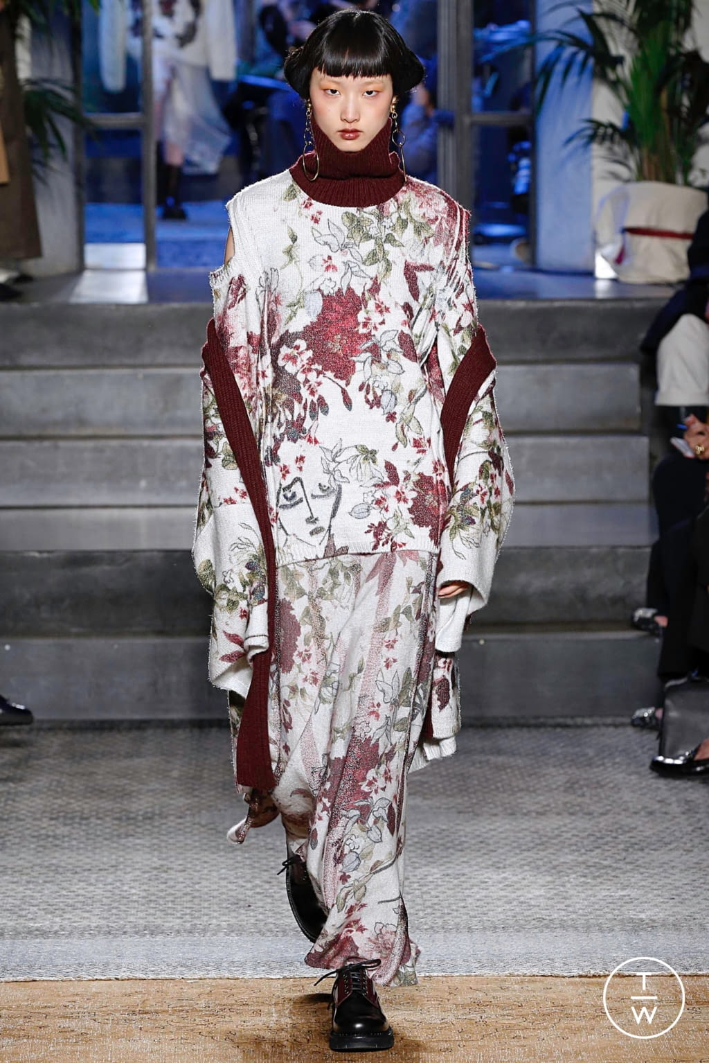 Fashion Week Milan Fall/Winter 2019 look 47 from the Antonio Marras collection 女装
