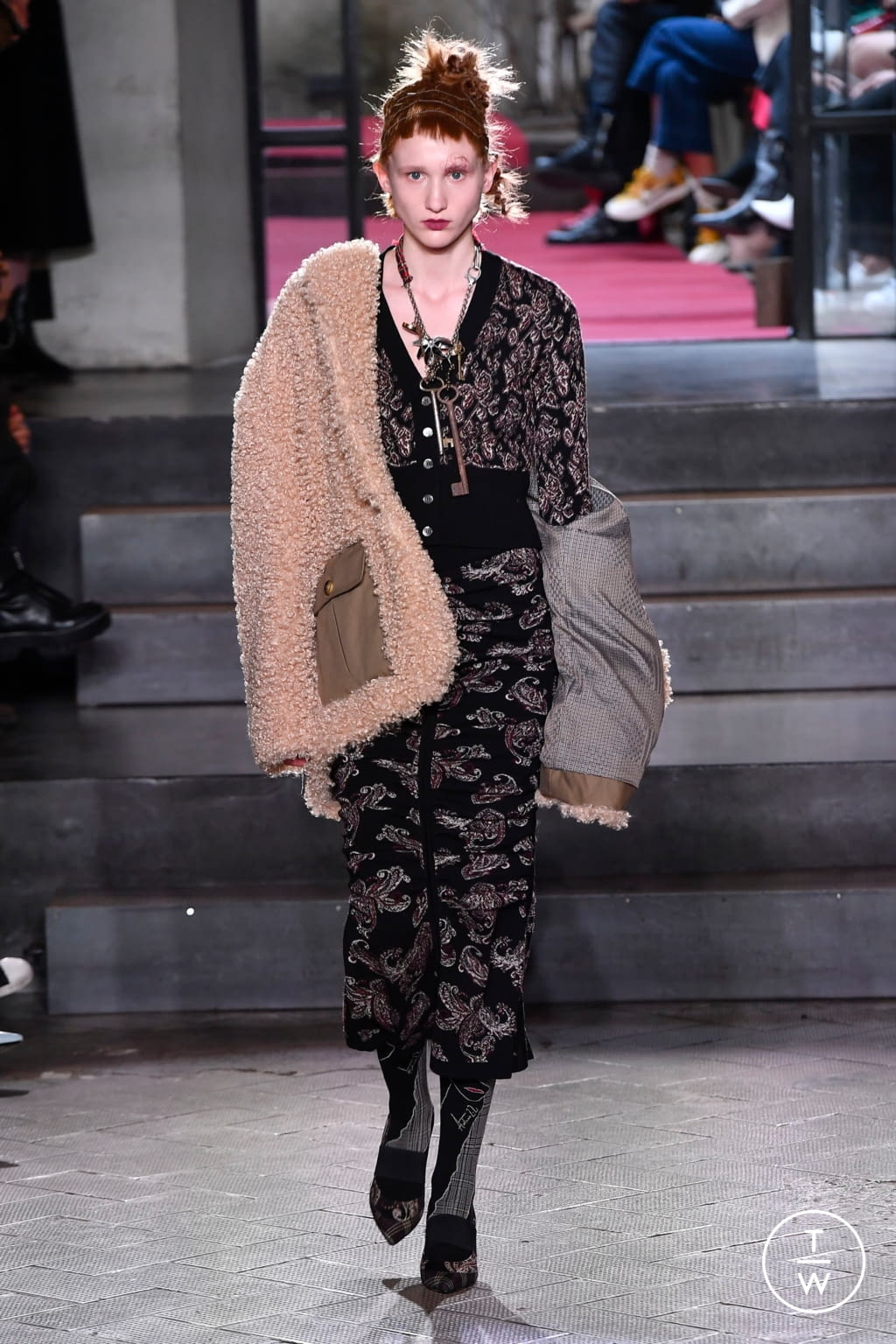Fashion Week Milan Fall/Winter 2020 look 31 from the Antonio Marras collection womenswear