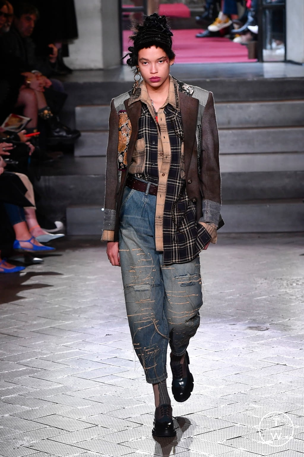 Fashion Week Milan Fall/Winter 2020 look 47 from the Antonio Marras collection womenswear