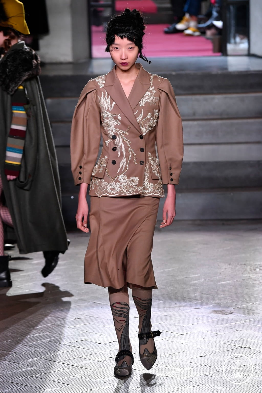 Fashion Week Milan Fall/Winter 2020 look 52 from the Antonio Marras collection 女装