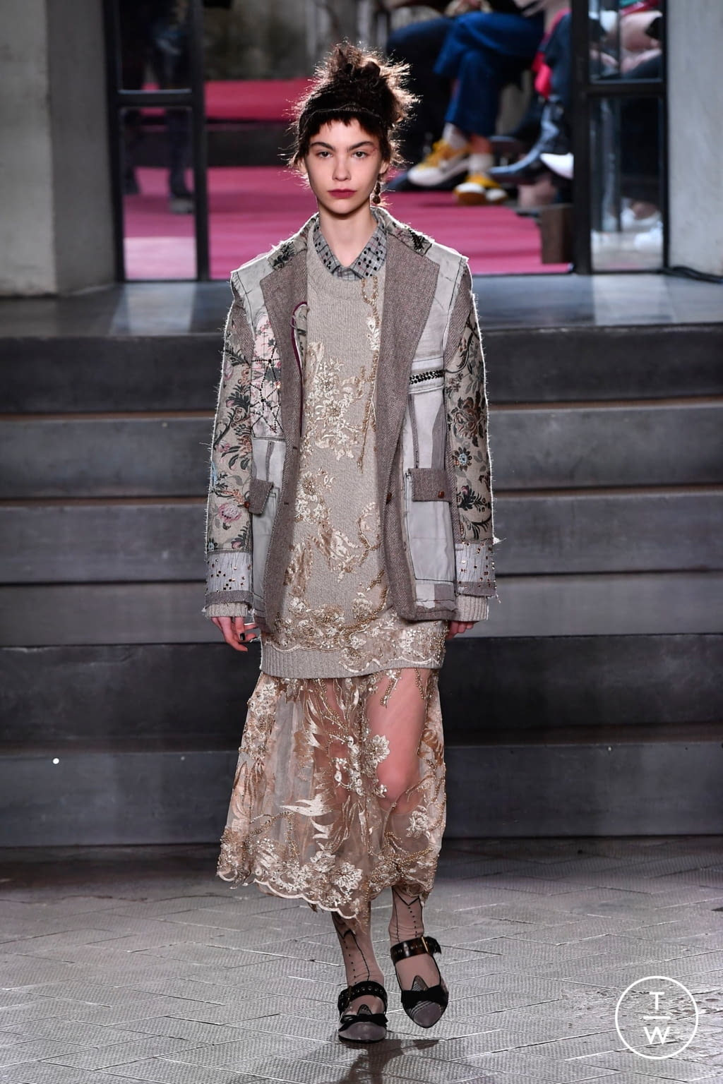 Fashion Week Milan Fall/Winter 2020 look 54 from the Antonio Marras collection 女装