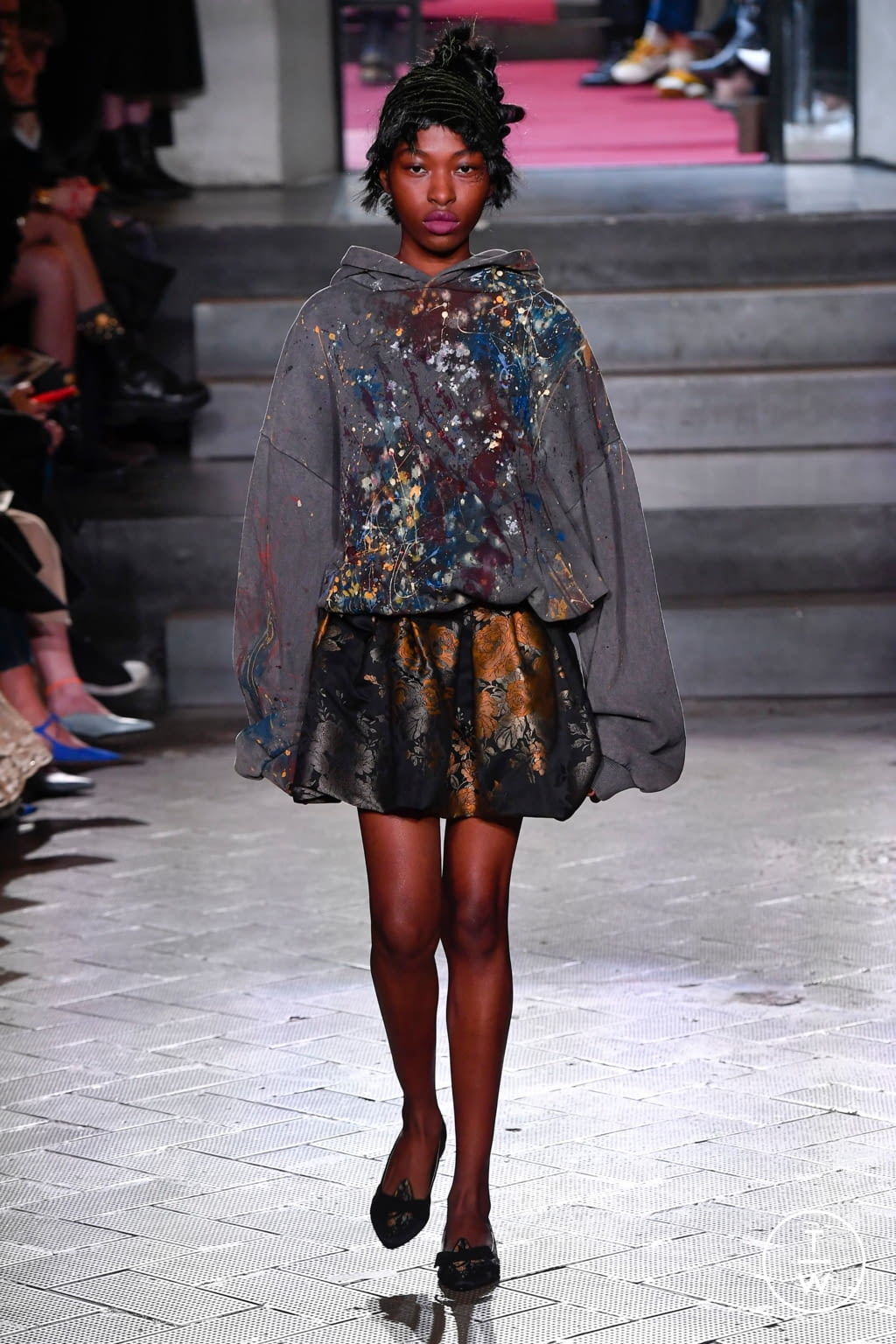 Fashion Week Milan Fall/Winter 2020 look 56 from the Antonio Marras collection 女装