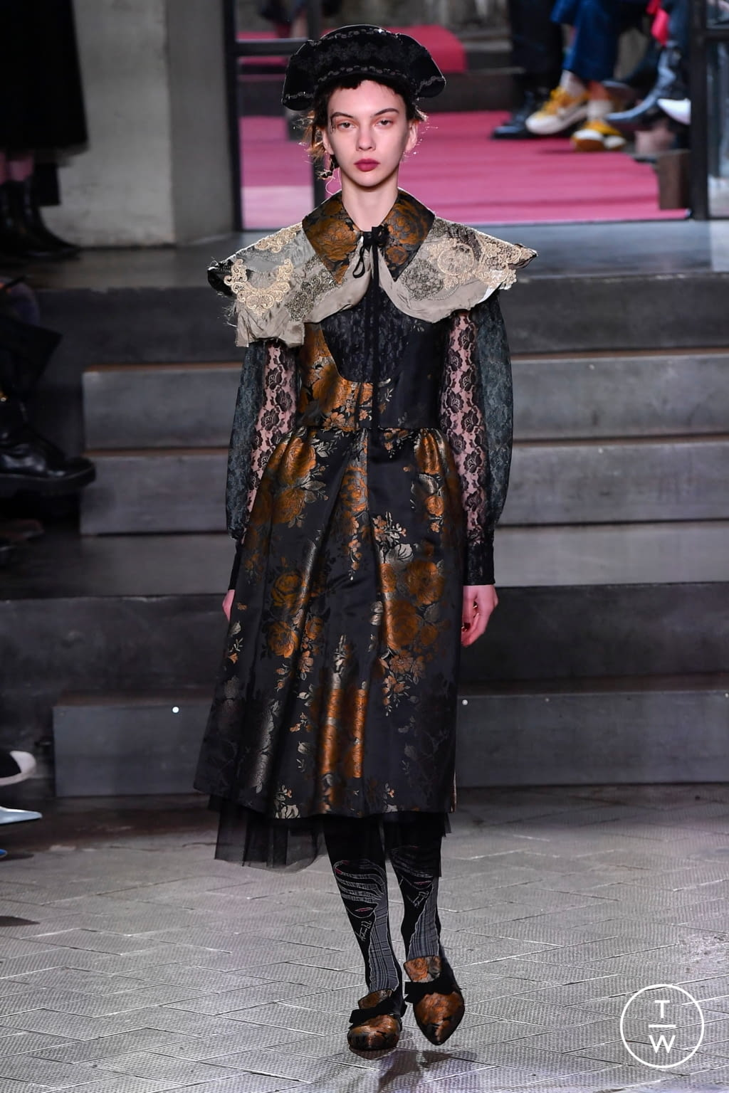 Fashion Week Milan Fall/Winter 2020 look 57 from the Antonio Marras collection 女装