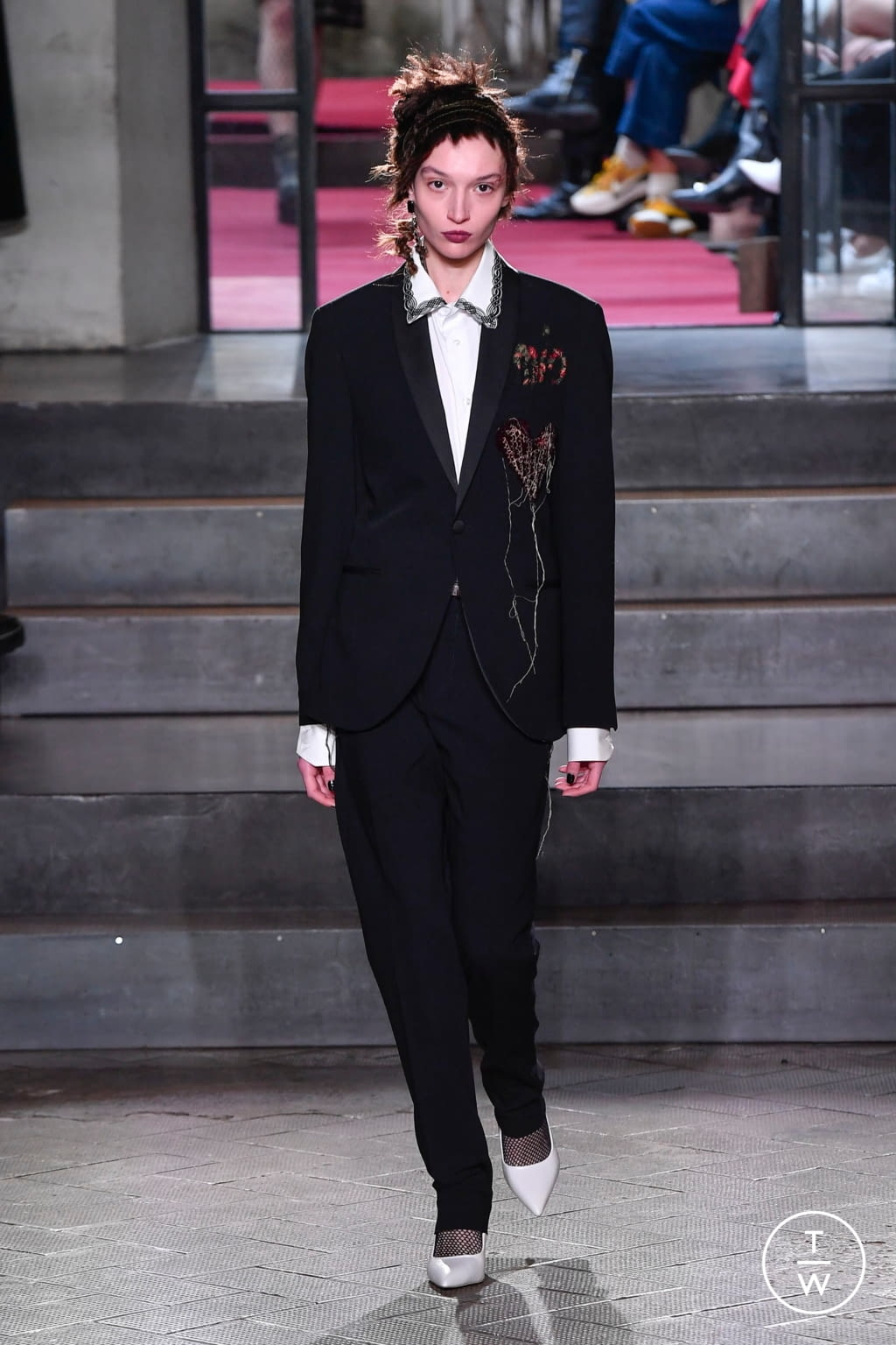 Fashion Week Milan Fall/Winter 2020 look 62 from the Antonio Marras collection 女装
