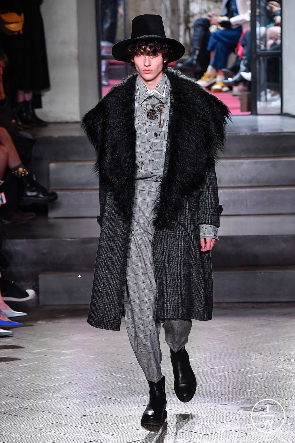 Fashion Week Milan Fall/Winter 2020 look 78 from the Antonio Marras collection womenswear