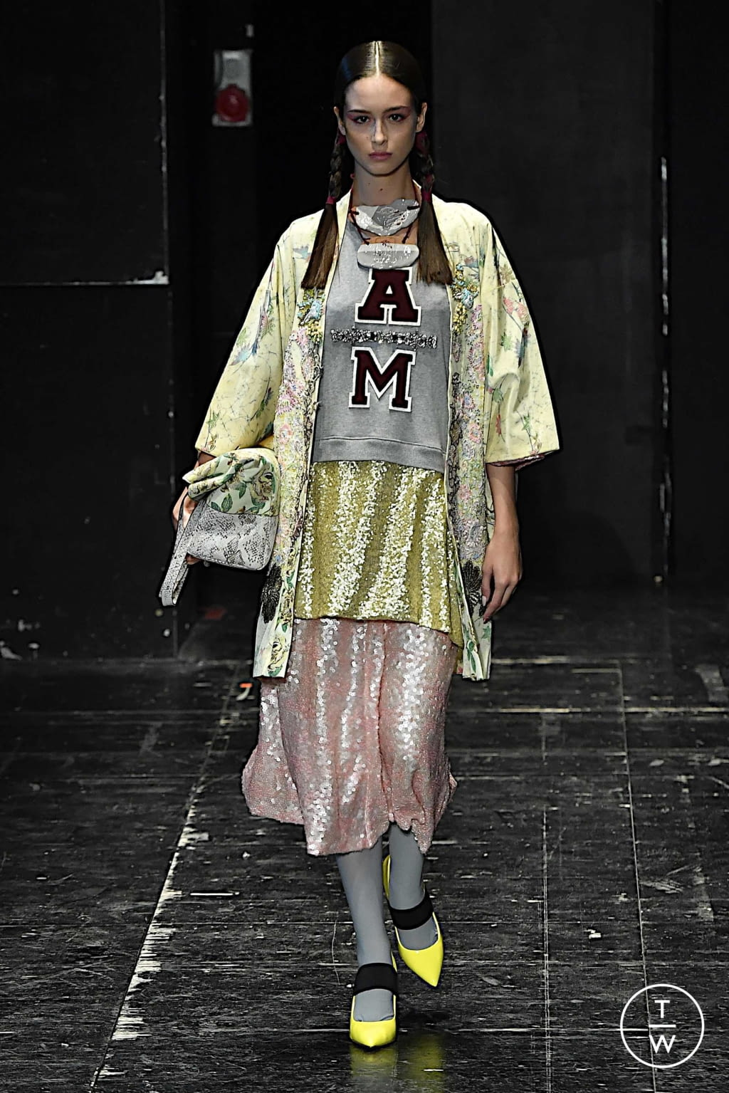 Fashion Week Milan Spring/Summer 2020 look 4 from the Antonio Marras collection 女装