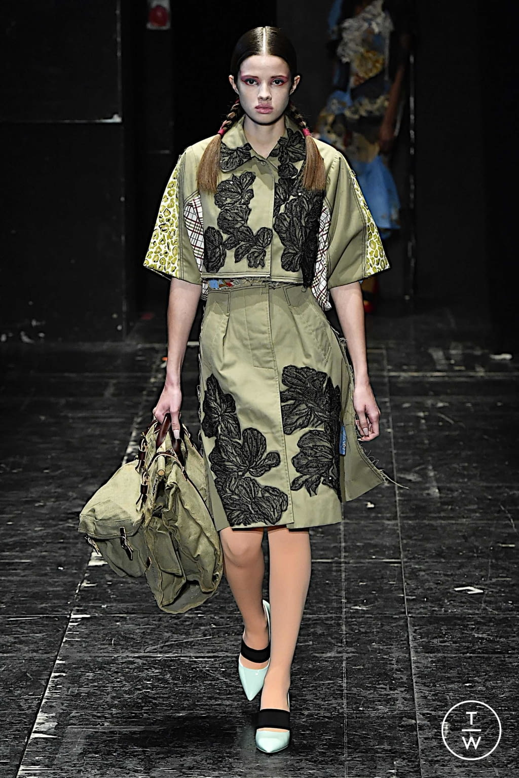 Fashion Week Milan Spring/Summer 2020 look 8 from the Antonio Marras collection womenswear