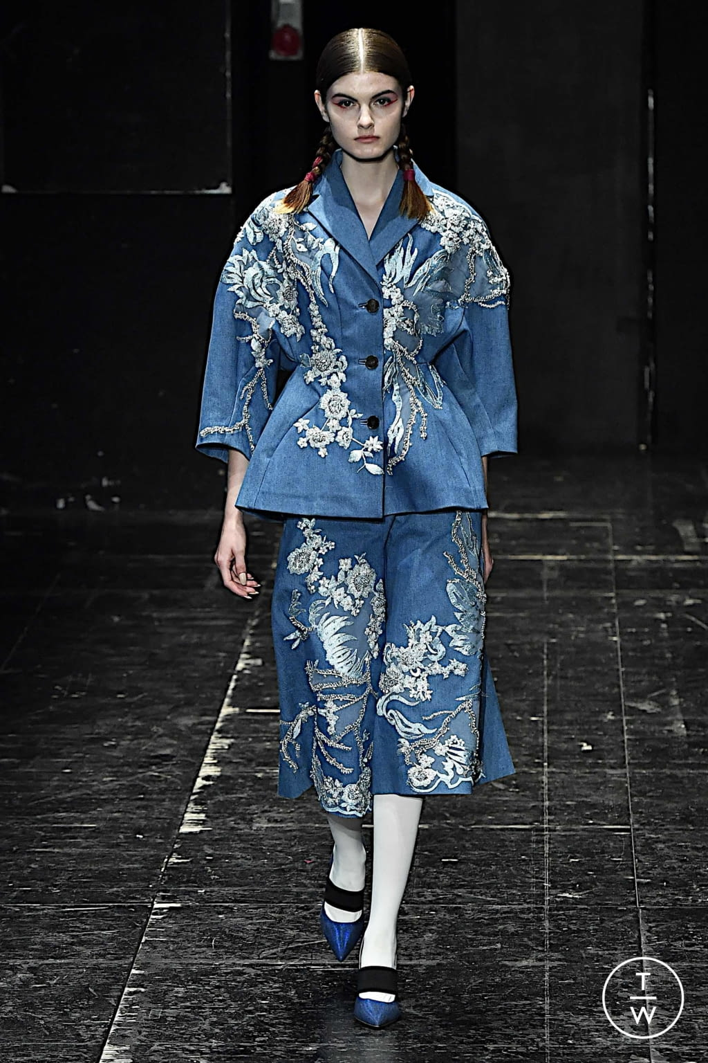 Fashion Week Milan Spring/Summer 2020 look 12 from the Antonio Marras collection 女装