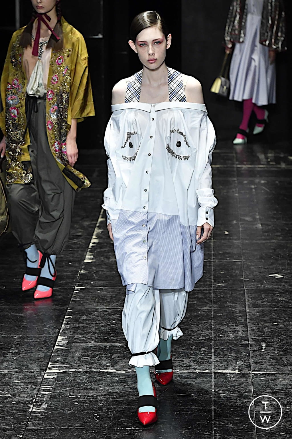 Fashion Week Milan Spring/Summer 2020 look 13 from the Antonio Marras collection 女装