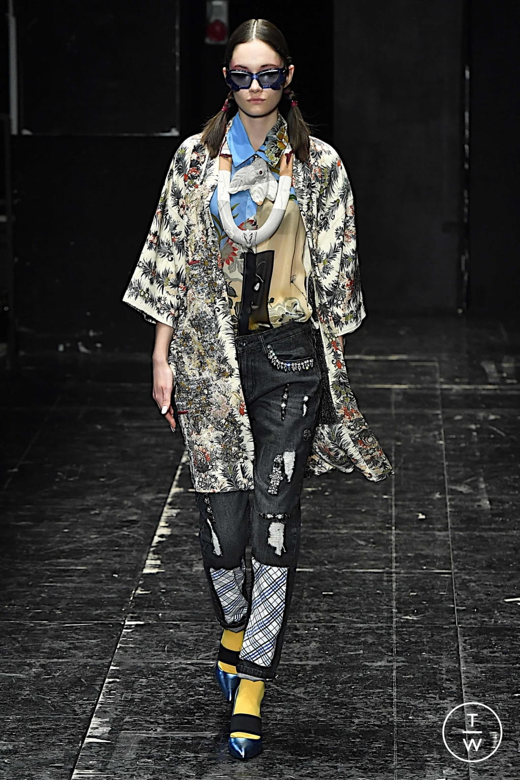 Fashion Week Milan Spring/Summer 2020 look 16 from the Antonio Marras collection womenswear