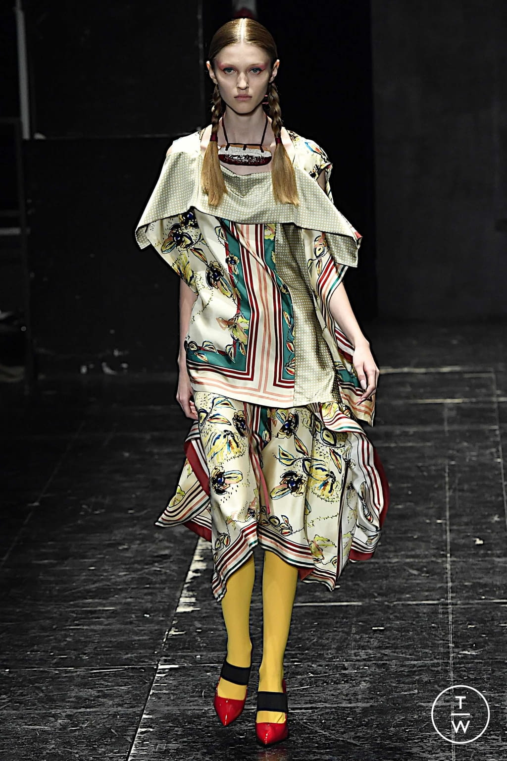 Fashion Week Milan Spring/Summer 2020 look 18 from the Antonio Marras collection womenswear