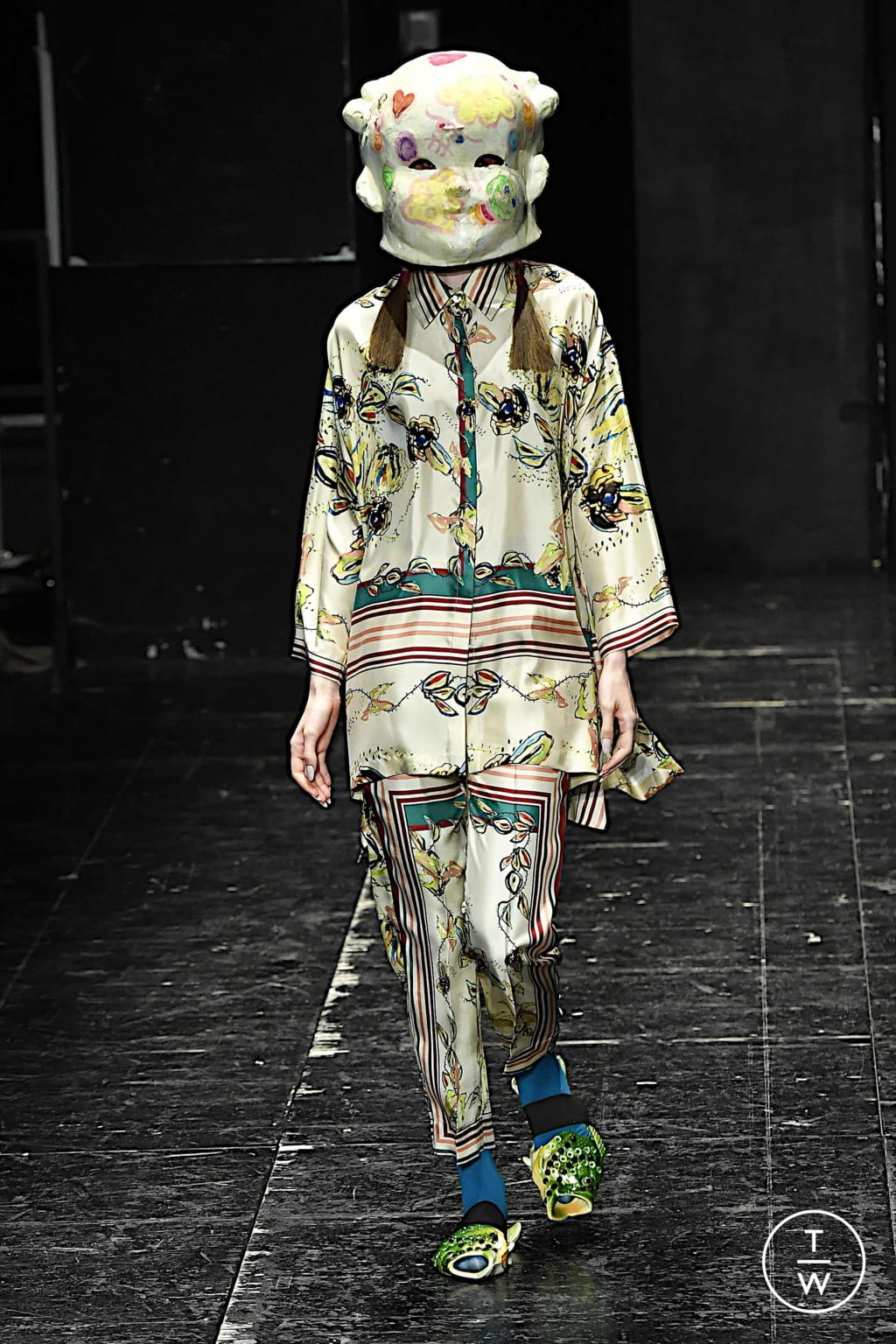 Fashion Week Milan Spring/Summer 2020 look 21 de la collection Antonio Marras womenswear